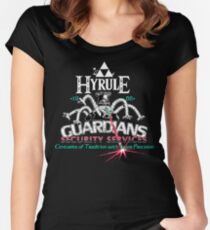 Zelda Breath of the Wild Hyrule Guardians Women's Fitted Scoop T-Shirt