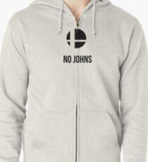 No Johns Zipped Hoodie