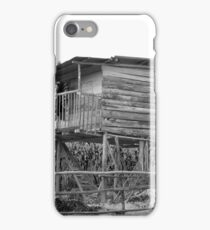 House on Stilts iPhone Case/Skin