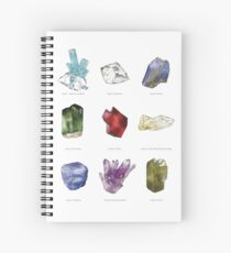 Gemstone Chart Spiral Notebook