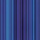 Women's Graphic T-Shirt Dress Blue Stripes by Gotcha29