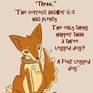Three Legged Dog by Che Gilson