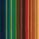 Women's Graphic T-Shirt Dress Groovy Rainbow Colors by Gotcha29