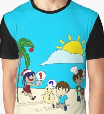 Christmas in July (Color) Graphic T-Shirt