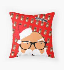 Shade Santa Throw Pillow