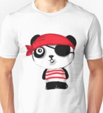 Pirate Panda  Unisex T-Shirt