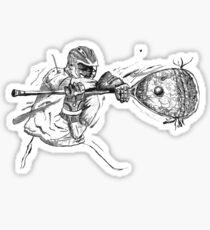 lacrosse goalie Sticker