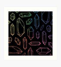 Crystal Magic. Art Print