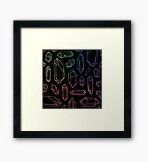 Crystal Magic. Framed Print