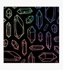 Crystal Magic. Photographic Print