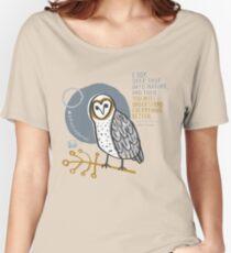 BioBlitz masked owl Women's Relaxed Fit T-Shirt