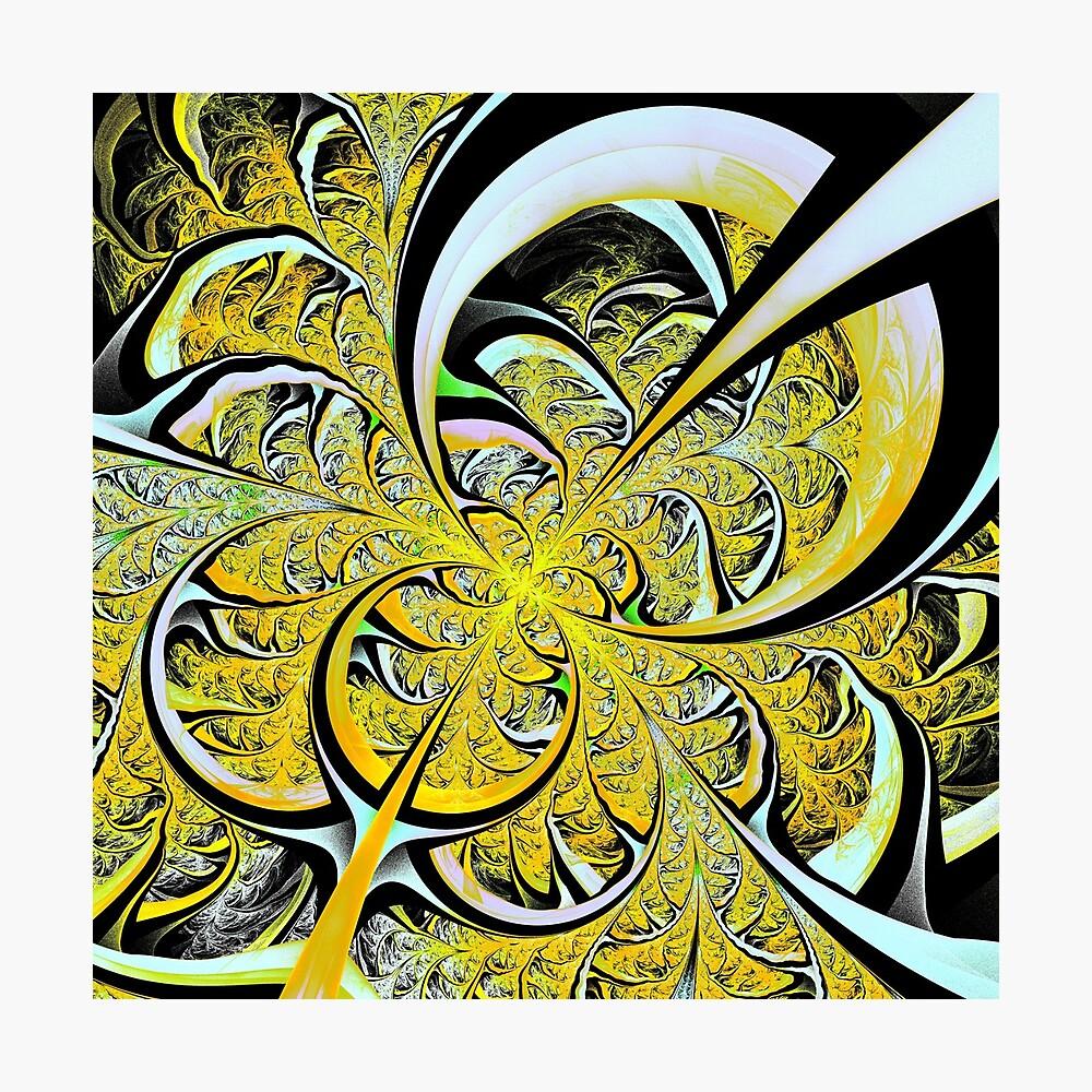 Lemon Twist Photographic Print - abstract lemon wall decor