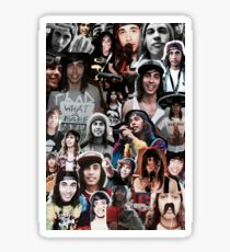 Vic Fuentes Collage Sticker