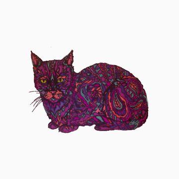 gato de color de AUDREYHELLADOPE