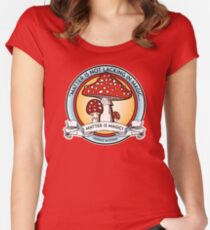 Terence Mckenna Wisdom Women's Fitted Scoop T-Shirt