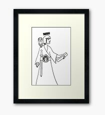 Athena, Goddess of Wisdom Framed Print