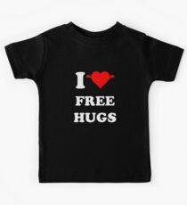 I Love free HUgs Kids Tee