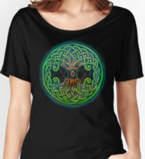Yggdrasil Celtic Viking World Tree of Life color Women's Relaxed Fit T-Shirt