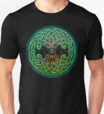Yggdrasil Celtic Viking World Tree of Life color T-Shirt