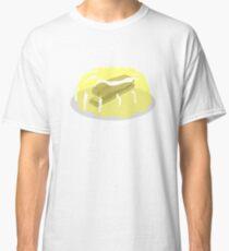 Camiseta clásica ¡DAMMIT JIM! Grapadora en Jello