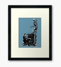 Plague Pianist Framed Print