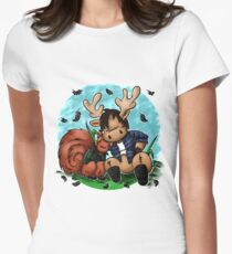 Moose and Squirrel Women's Fitted T-Shirt