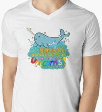 Narwhal Men's V-Neck T-Shirt