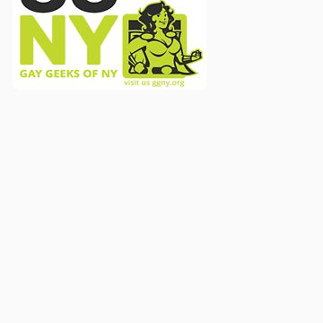 Oma - Green GGNY Hero Sticker by GayGeeksNY