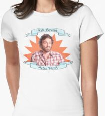 Rob Benedict hates Perth Women's Fitted T-Shirt