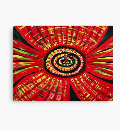 The Soul of the Flower Canvas Print