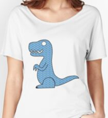 Dino Sapphire Women's Relaxed Fit T-Shirt