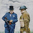 WWII Winston Churchill by Jan Szymczuk