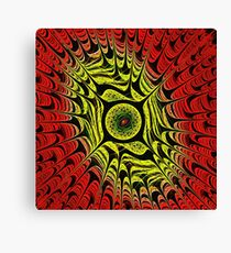 Fire Dragon Eye Canvas Print