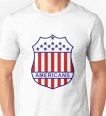 New York Americans 1933-35 Defunct Hockey Team Unisex T-Shirt