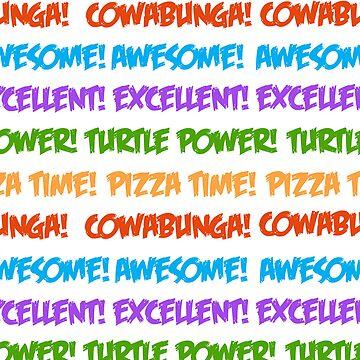 Turtle Power! by samskyler
