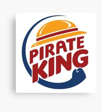 Pirate King Canvas Print
