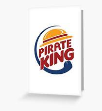 Pirate King Greeting Card