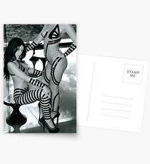 Models posing for Black Tape Project Postcards