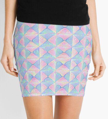 #DeepDream factures #art Mini Skirt