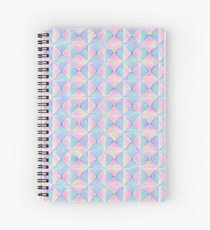 #DeepDream factures #art Spiral Notebook