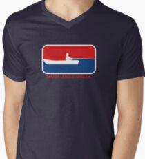 Major League Angler Mens V-Neck T-Shirt