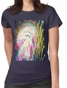 Star Trails II Womens Fitted T-Shirt