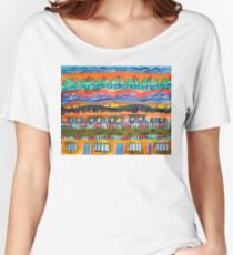 City On The Edge Of The Desert Women's Relaxed Fit T-Shirt