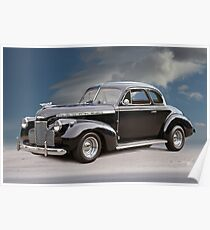 1940 Chevrolet Special Deluxe Coupe Poster