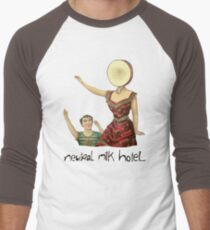 Neutral milk hotel Men's Baseball ¾ T-Shirt