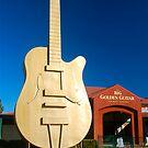 The Big Golden Guitar by peasticks