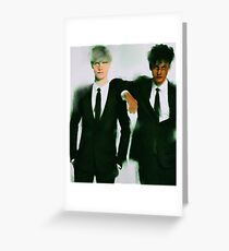Evil!Drarry Greeting Card