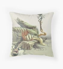 Everyone Gets Bored Throw Pillow