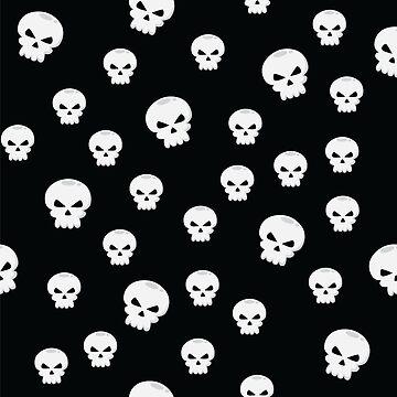 Cartoon Skulls by HeavenofHorror