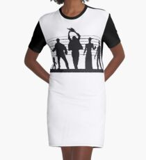 The Usual (Horror) Suspects Graphic T-Shirt Dress
